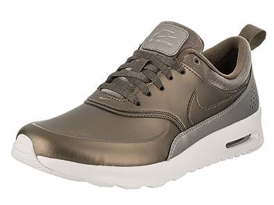e090076400 Nike Air Max Thea Premium Womens Shoes Metallic Field/Metallic Field 616723-902  (