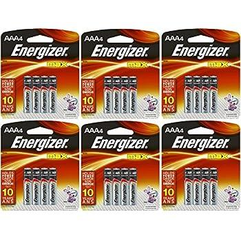 Amazon.com : Energizer Max AAA Batteries, AAA4, 4-Count