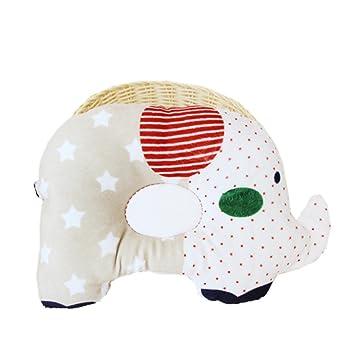 jysport bebé almohada, anti-flat cabeza síndrome anti-presión apoyo almohada de algodón suave cojín de recién nacido