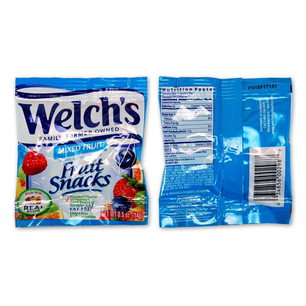 WELCH'S Fruit Snacks Mixed Fruit, 250 Count by Welch's (Image #2)