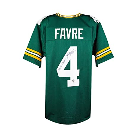 official photos f4768 cde28 Brett Favre Autographed w/ Inscription Green Bay Packers ...