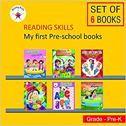 Amazonin Buy My First Pre School Pack Set Of 6 Books Book