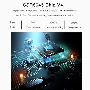 Earphone Deportes en la Oreja, Auricular inalámbrico Bluetooth Deporte Csr8645 V4.1 Hi-
