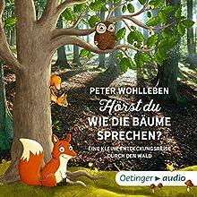 Hörst du, wie die Bäume sprechen? Eine kleine Entdeckungsreise durch den Wald Hörbuch von Peter Wohlleben Gesprochen von: Hans Löw