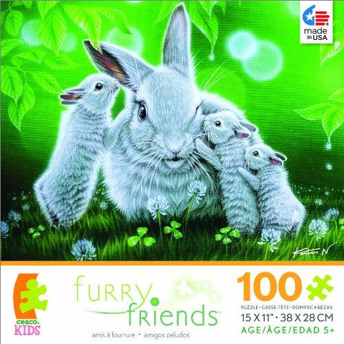 Furry Friends Whisper Jigsaw Puzzle