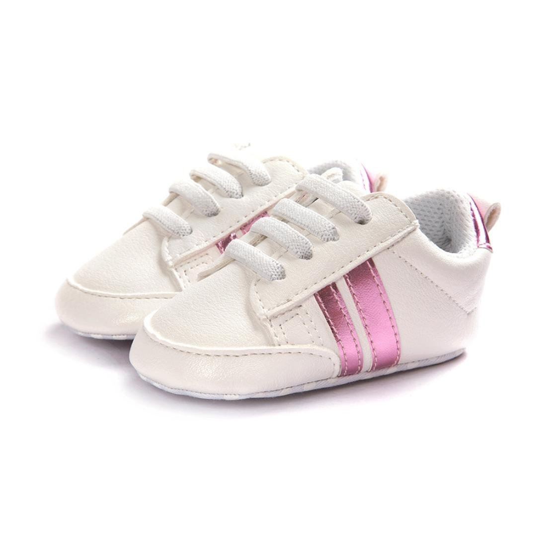 Usstore 1Pair unisex Baby infant Toddler Soft Sole Anti-skid Sneakers Shoes