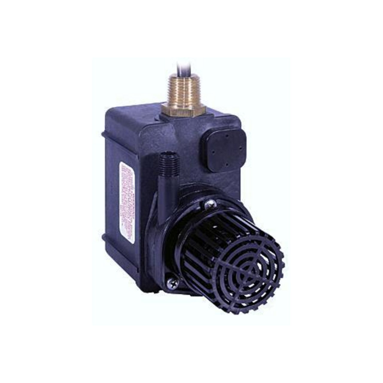 Little Giant 518550 PE-2YSA Submersible Parts Washer Pump, 300 Gallons Per Hour