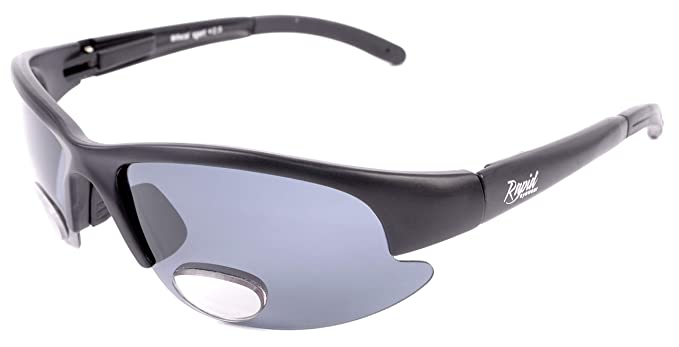 c8083e6814a7 Rapid Eyewear BIFOCAL READY POLARIZED SUNGLASSES + 2.0 for Men and Women. Sports  Glasses With