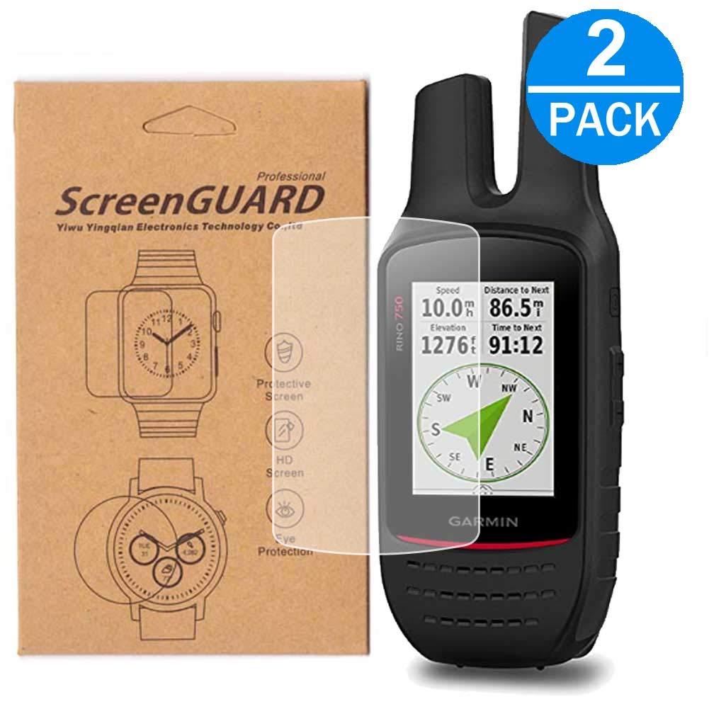 [2パック] Garmin Rino 755T GPSスクリーンプロテクター フルカバー HD クリア 気泡防止 傷防止 Garmin Rino 755t / Garmin Rino 750用   B07N5J5YYK