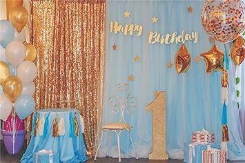Amazon Leyiyi 10x8ft Kids 1st Birthday Backdrop Chrildrens B