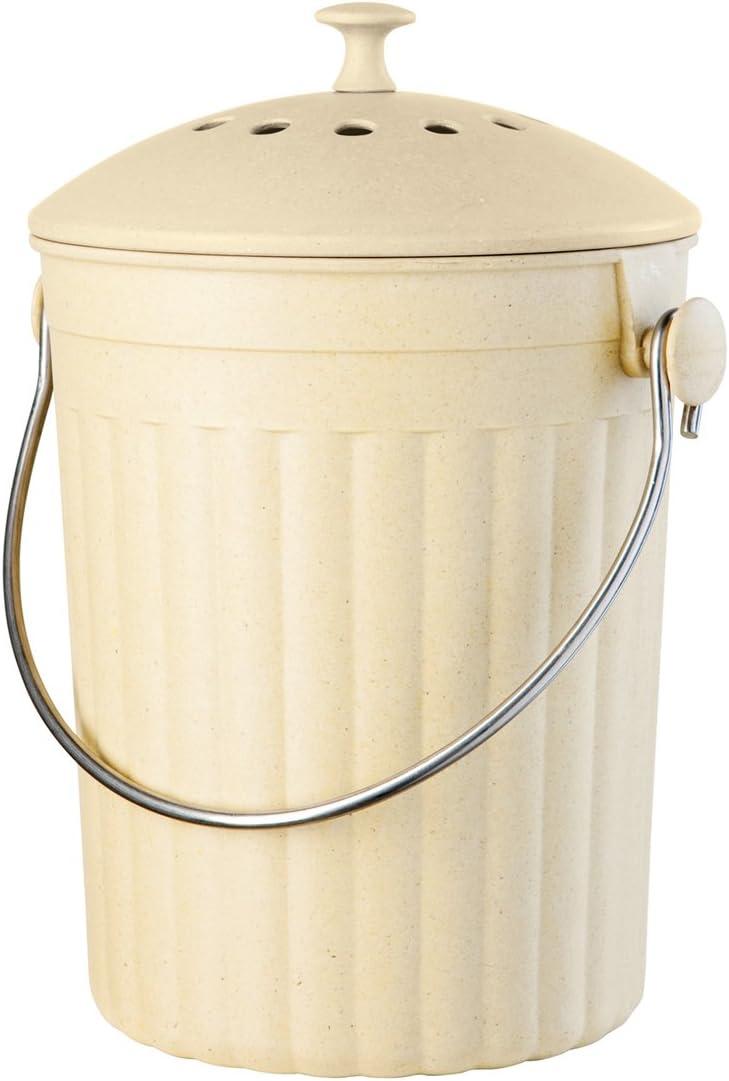 Amazon.com: Oggi Encimera cubeta para compost con filtro de ...