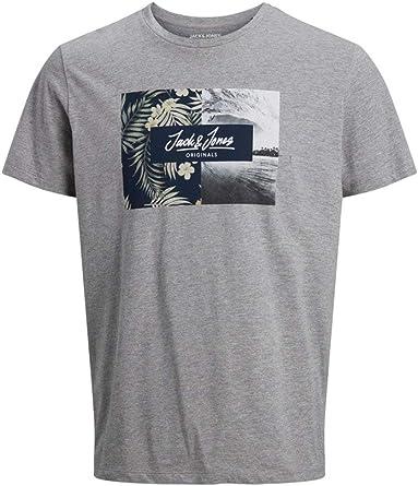 Jack & Jones Jortropic tee SS Crew Neck Camiseta para Hombre: Amazon.es: Ropa y accesorios