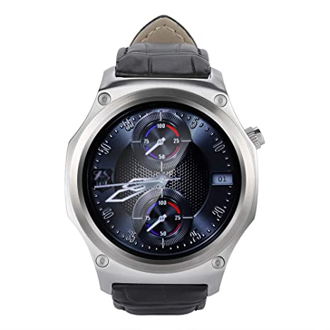 ASHATA IP65 Impermeable Reloj Inteligente 1.39 Pulgadas ...