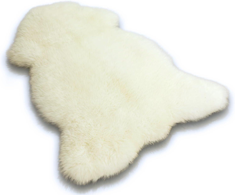 Véritable Naturel Peau De Mouton Canard Œuf unique