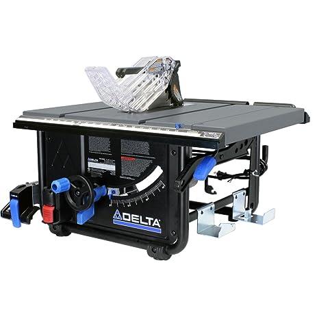 Miraculous Delta Power Tools 36 6010 10 Portable Table Saw Machost Co Dining Chair Design Ideas Machostcouk