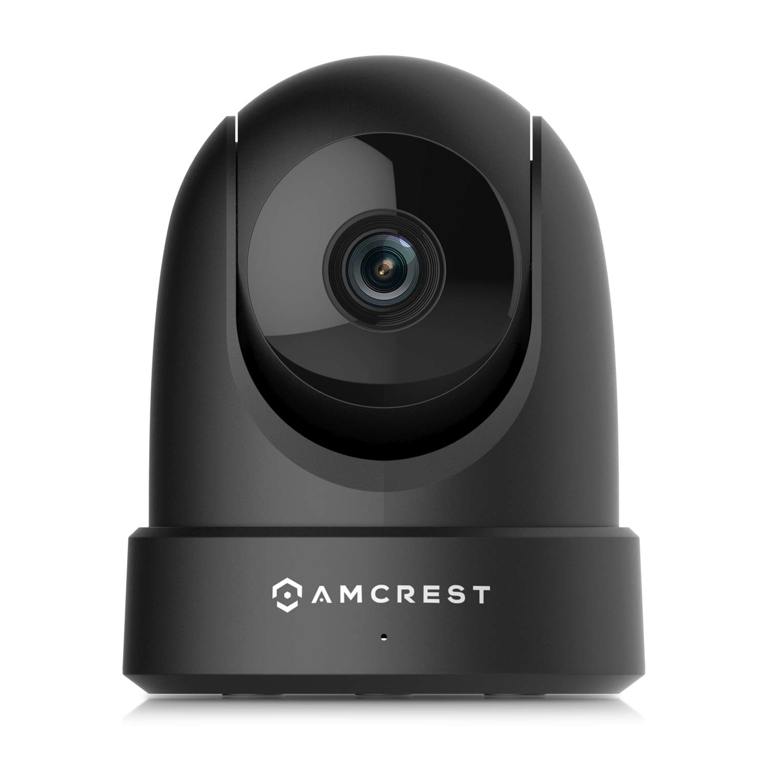 Amcrest 4MP UltraHD Indoor WiFi Camera, Security IP Camera with Pan/Tilt, Two-Way Audio, Night Vision, Remote Viewing, Dual-Band 5ghz/2.4ghz, 4-Megapixel @~20FPS, Wide 120° FOV, IP4M-1051B (Black) by Amcrest