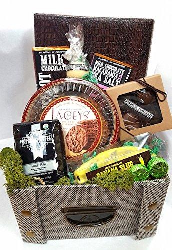 (Humboldt Chocolate Tweed Box (11.75 x 9