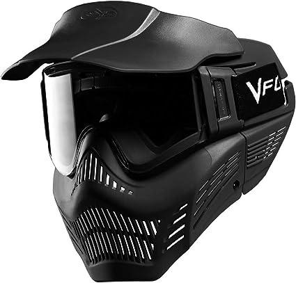 Amazon Com Vforce Armor Fieldvision Gen 3 Paintball Mask Black Vforce Pro Vantage Sports Outdoors