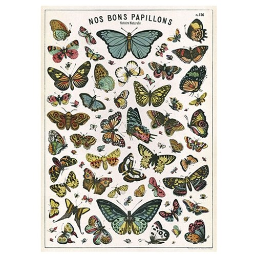 Printable Butterfly - Cavallini Decorative Paper - Nos Bons