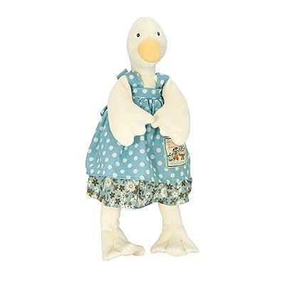 "Moulin Roty ""La Grande Famille"" Collection Plush Stuffed Animal - LITTLE Goose Jeanne, 12"": Baby"