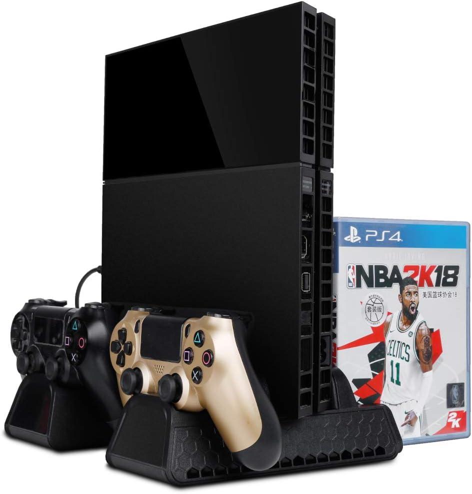 Zacro PS4 Slim/PS4 pro/PS4 Ventilador vertical de enfriamiento ...