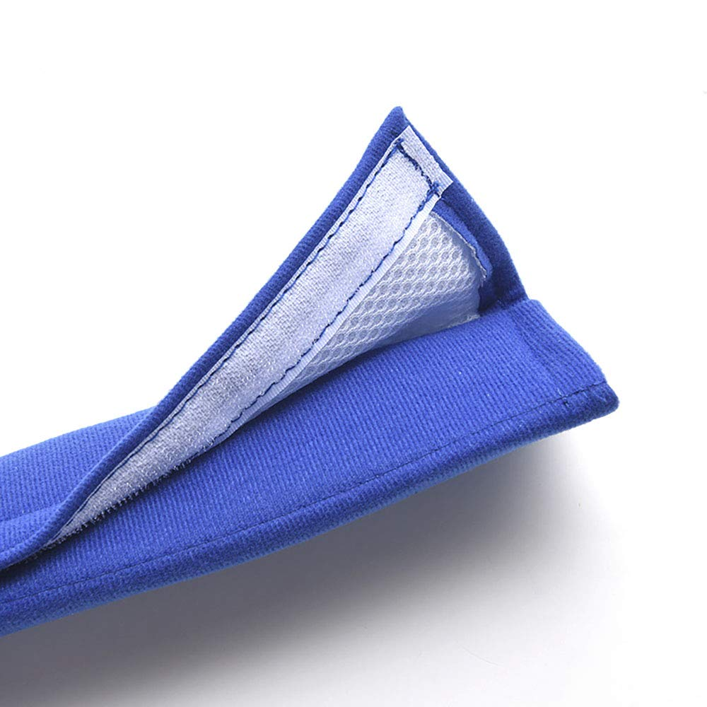 Useful Shoulder Suitable for Backpack Shoulder Bag Cover Kitchen-dream Car Seat Belt Cover Pad Black Cotton Soft Car Safety Seat Belt Strap Shoulder Pad for Adults and Children