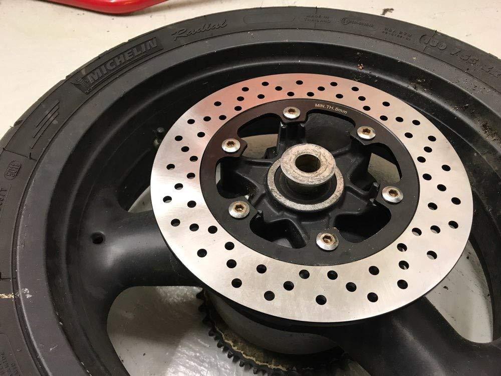 TARAZON Rear Brake Disc Rotor for Daytona 750 900 1000 1200// Trophy 900 1200// Trident 750 900 Sprint