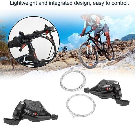 Wosume 1 par Triple 3X7 / 8/9 Velocidad Bicicleta Engranaje Cambio ...