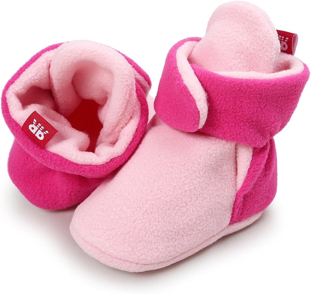 Kuajing Baby Shoes Cozy Fleece Bootie