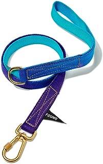 product image for Found My Animal Egg Blue to Violet Cotton Webbing Dog Leash, Standard (Medium)