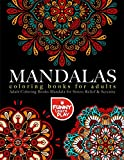 Mandala Coloring Books for Adults: Adult Coloring