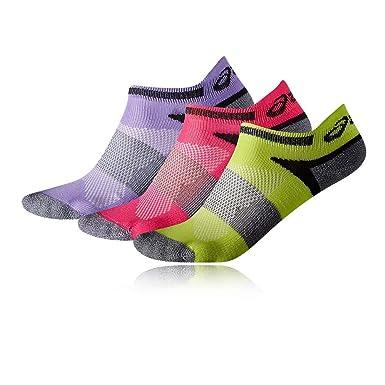 f43d920ecc ASICS Lyte Junior Running Socks (3 Pack): Amazon.co.uk: Clothing