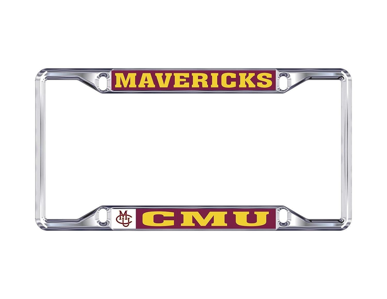 Mascot Desert Cactus Colorado Mesa University Mavericks NCAA Metal License Plate Frame for Front Back of Car Officially Licensed
