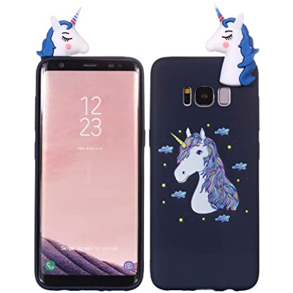 Amazon.com: SHUNDA Galaxy S8 Plus Funda, 3D lindo dibujos ...