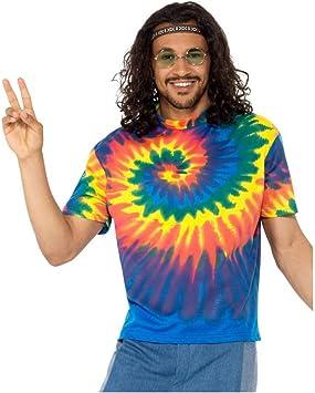 Batik Hippie Hombre Camisa De Disfraces XL: Amazon.es: Juguetes y juegos