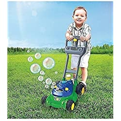 Push 'N' Bubble Lawn Mower Machine with Realistic Sound