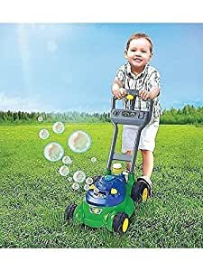 Amazon Com Push N Bubble Lawn Mower Machine With