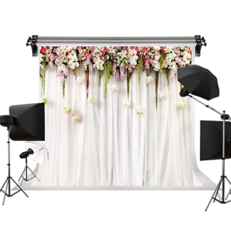 amazon com kate 7x5ft 2 2x1 5m wedding photo backdrops white