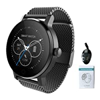 Smart Wristwatch per Android IOS Fitness Activity Bracciale Smart Wristband con cardiofrequenzimetro Bluetooth Smart Watch Smart Wristband con contapassi