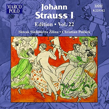 Strauss Edition Volume 22 (Marco Polo: 8.225342) Western Classical at amazon