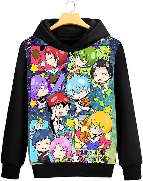 New Anime Kuroko no Basket Kuroko Jacket Cosplay Sweatshirt Hoodie Coat
