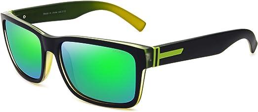 Retro Multicolor Lens Sunglasses Vintage Classic Unisex UV400 Mirro Anti-Reflect