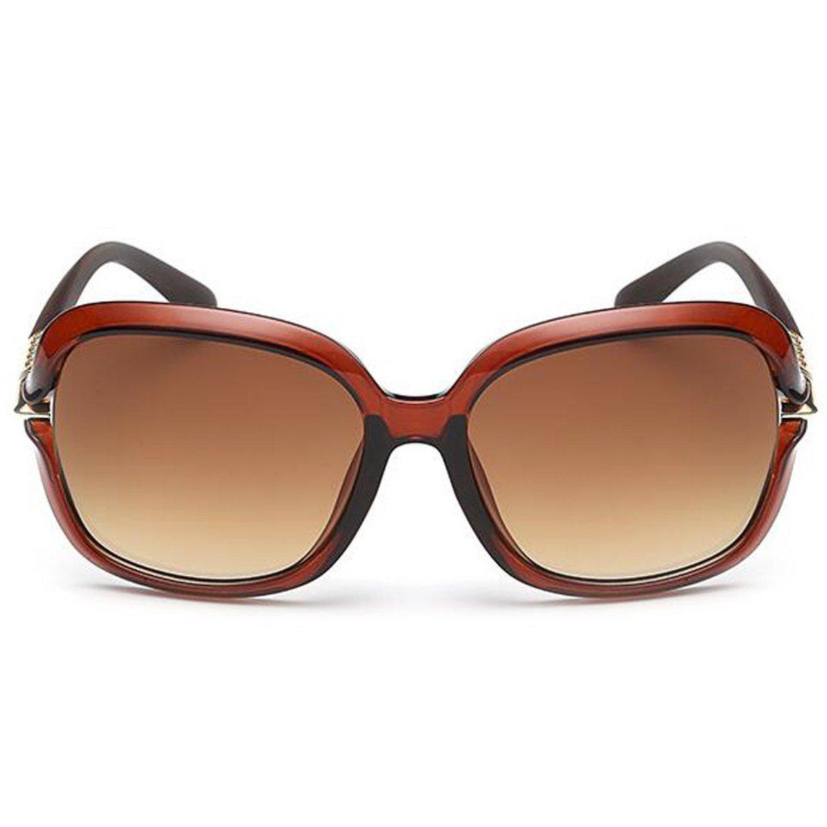 Le Donne Occhiali Da Sole Fresco Woodenlegs Selvaggio Classico Lusso Specchio Occhiali Da Vista Face-lift Golf Blocco UV,Blue-OneSize
