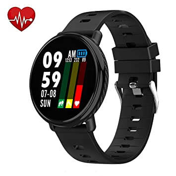 Amazon.com : Lantop Bluetooth Smart Watch Men IP68 ...
