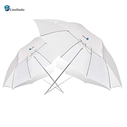 483850846 Image Unavailable. Image not available for. Color: LimoStudio 2X 33 Studio  Lighting Umbrellas Translucent ...