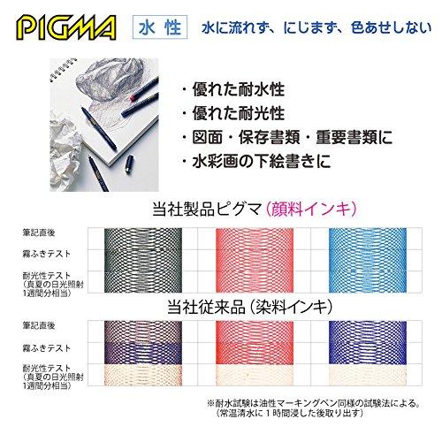 Sakura Pigment Ink Pen, Pigma Micron 1, Black (ESDK1#49) Photo #5