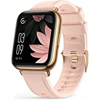 """Smart Watch for Women, AGPTEK 1.69""""(43mm) Smartwatch for Android and iOS Phones IP68 Waterproof Fitness Tracker Watch…"""