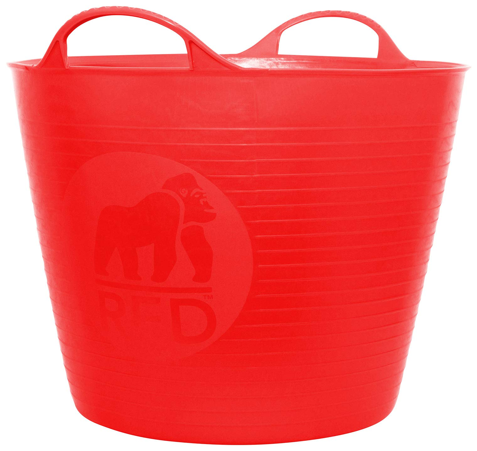 Decco Ltd Cubo Flexible, Rojo, 26 litros product image