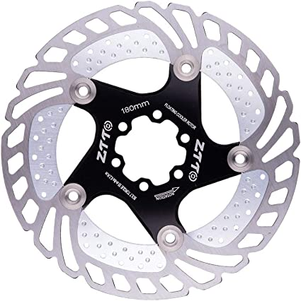 Bicycle Brake Disc Pad 140MM 160MM 180MM 203MM for Mountain Road Bike Bike Cooling Floating Rotor
