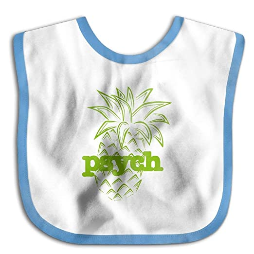 Amazon com: Funny Printed Psych Pineapple Baby Girl Boys Drool Bibs